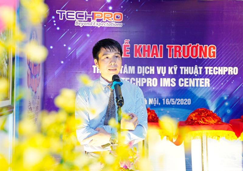TECHPRO chính thức Khai trương Trung tâm dịch vụ Kỹ thuật TECHPRO - IMS CENTER
